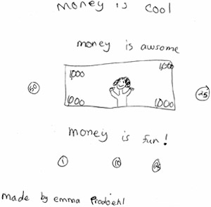 Money - by Emma