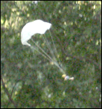 Home-made parachute experiments