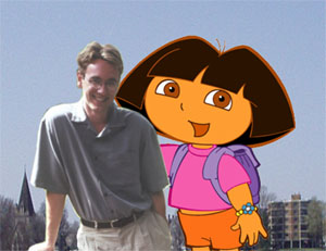 Mark and Dora - the Pilgrims!
