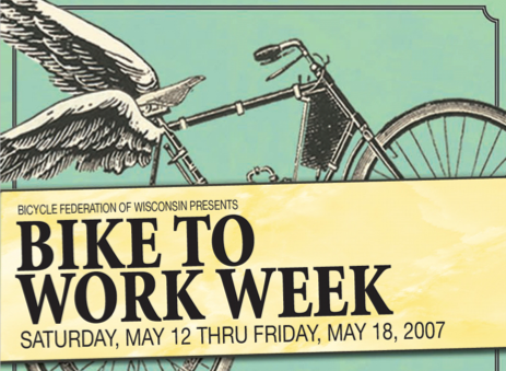 Bike to Work Week 2007