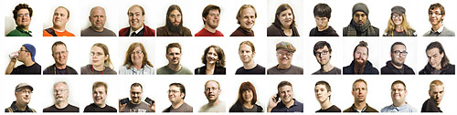 Faces of BarCamp