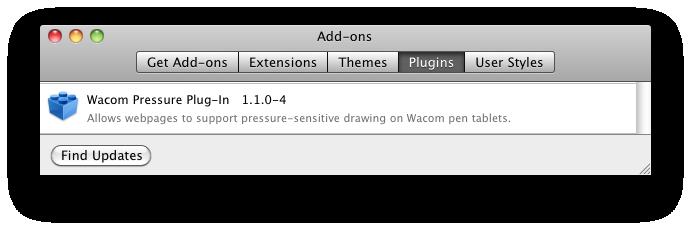 Wacom plugin