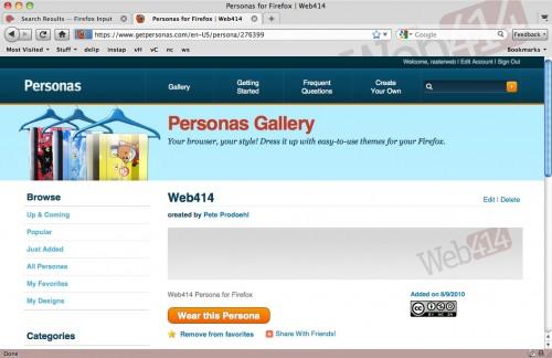 Web414 Persona