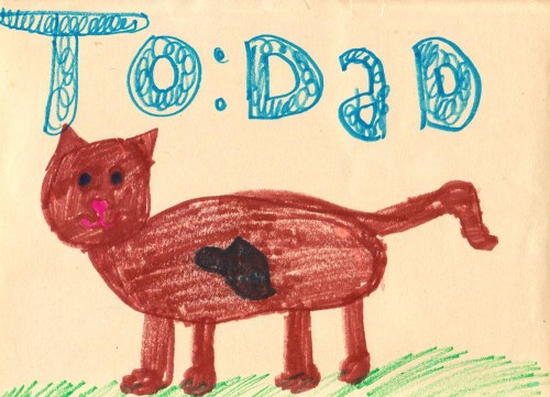 To: Dad (Cat)