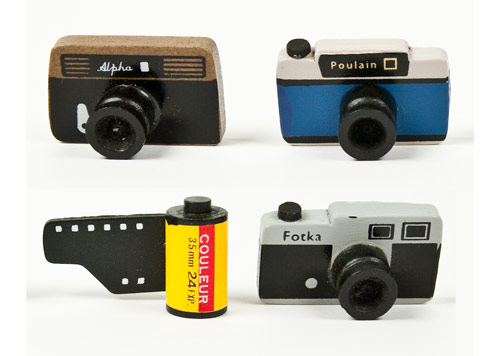 Photojojo Wooden Camera Gift Set