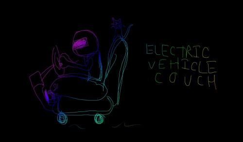 Electric Vehicle Couch