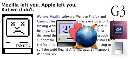 TenFourFox - PowerPC 4 Ever!