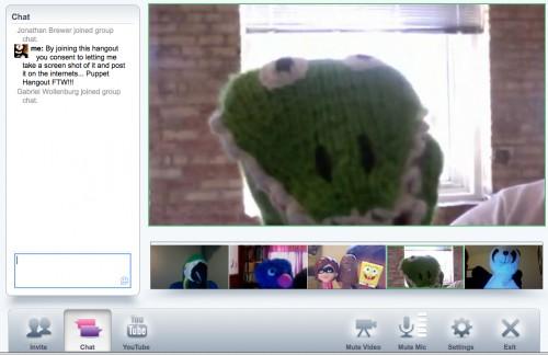 Google+ Puppet Hangout