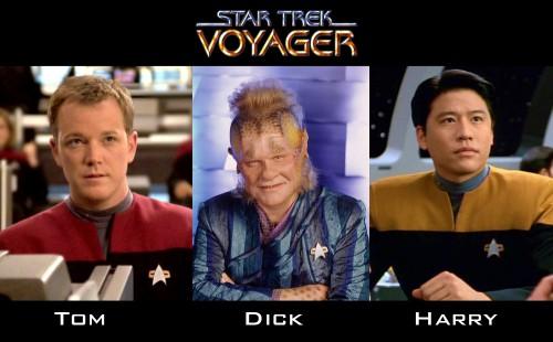 Starfleet has a posse