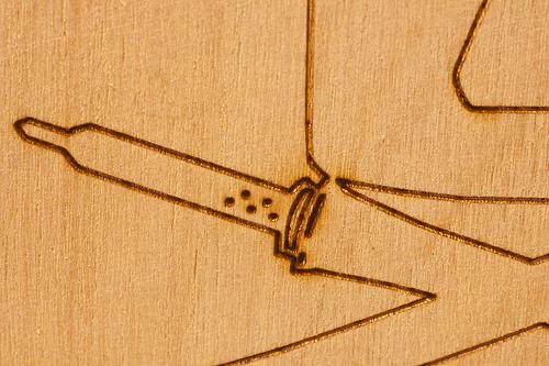 Laser Etched Wood