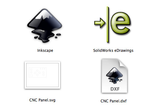 Inkscape DXF