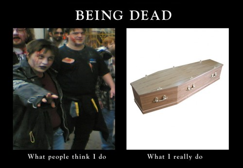 Being dead