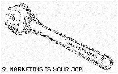 Marketing is your job