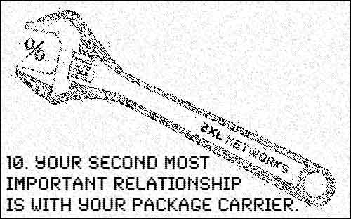 Your second most important relationship is with your package carrier