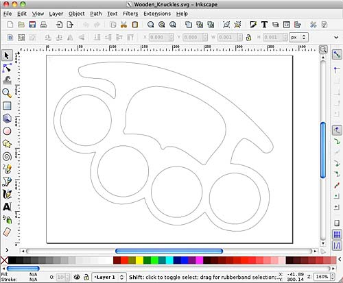SVG file in Inkscape