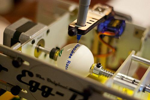 Ping-Pong Balls in the Egg-Bot