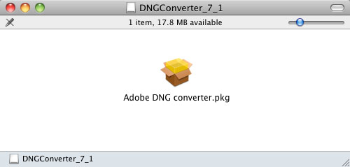 DNG 7.1 Converter