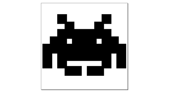 Space Invader SVG