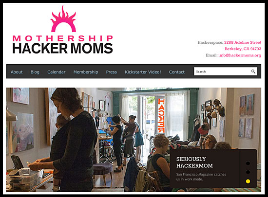 Mothership Hacker Moms