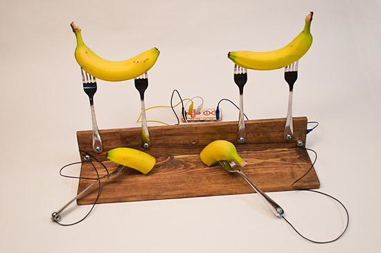 how to make banana piano makey akye