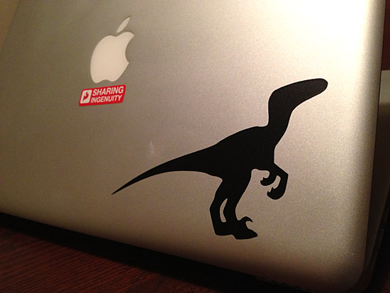 Velociraptor MacBook