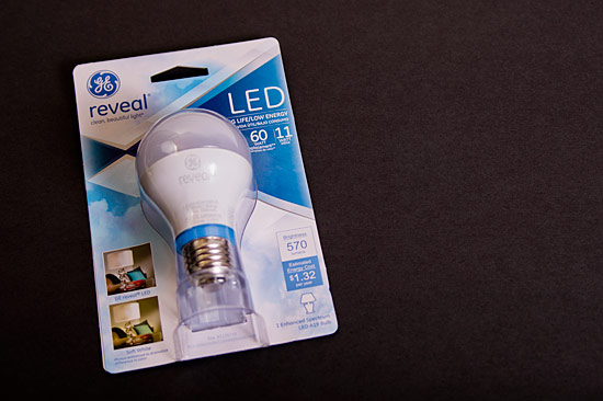 GE reveal Light Bulb