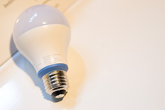GE reveal LED Light Bulb