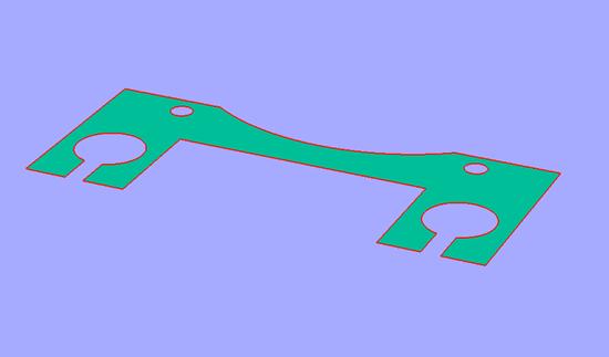 RAIL Mount DXF