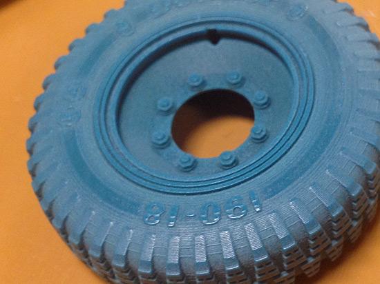 Wax Tire