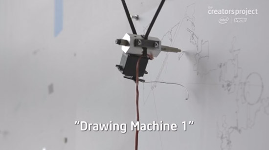 Havey Moon's Drawing Machine 1