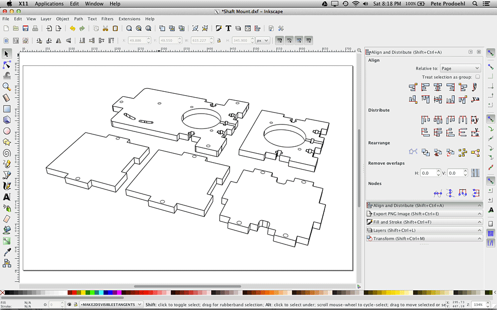 Drawing Lines With Inkscape : Rasterweb inkscape
