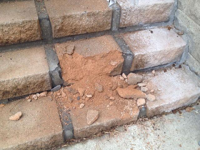 crumble-steps