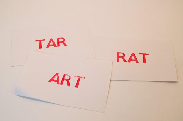 LaserCut LetterPress Example Print