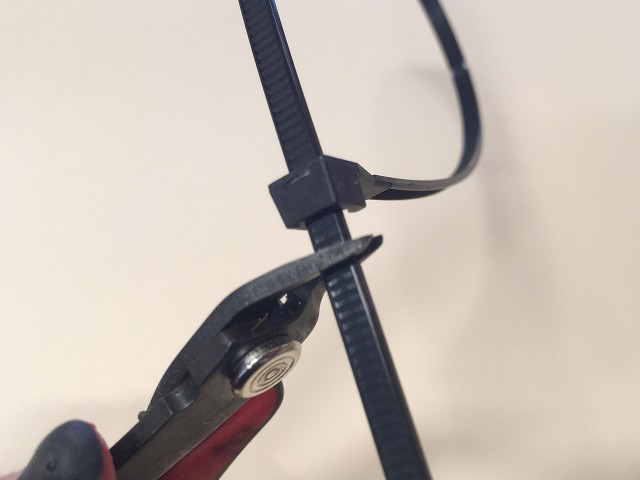 How to cut Zip Ties