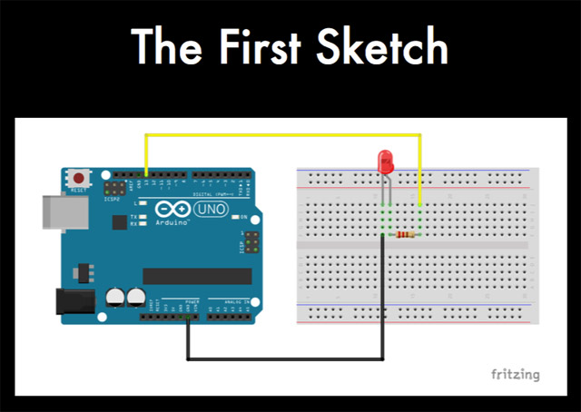 Arduino - The First Sketch