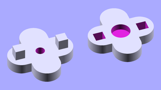 press-knob-model