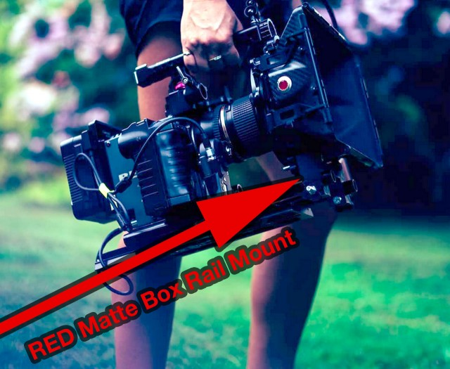 red-matte-box-rail-mount