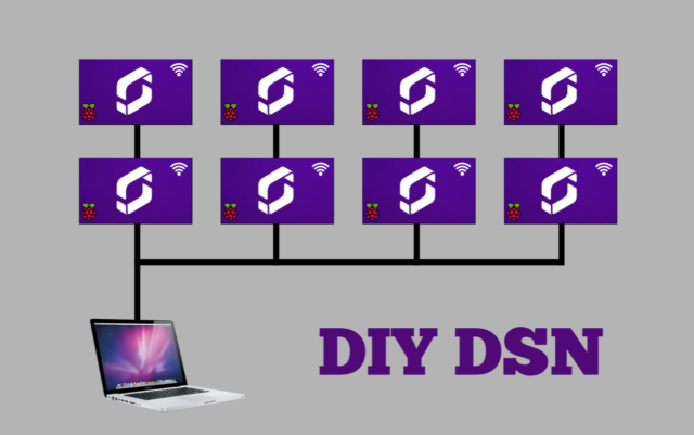 DIY DSN Screenly OSE